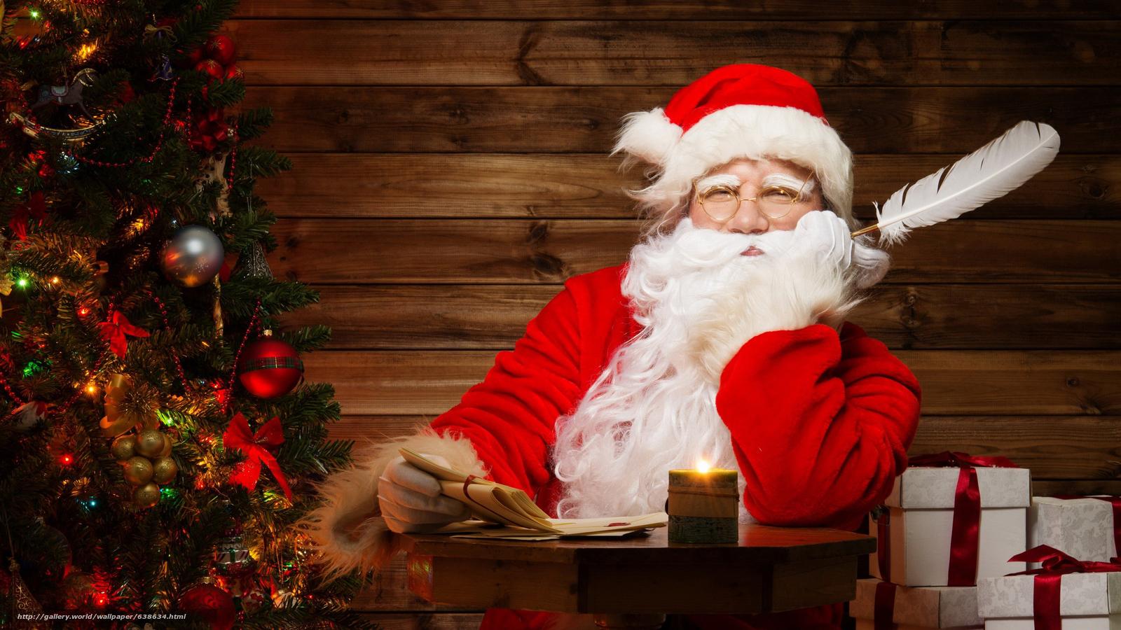 Descargar gratis Papá Noel,  Papá Noel,  Año Nuevo,  Navidad Fondos de escritorio en la resolucin 2560x1440 — imagen №638634