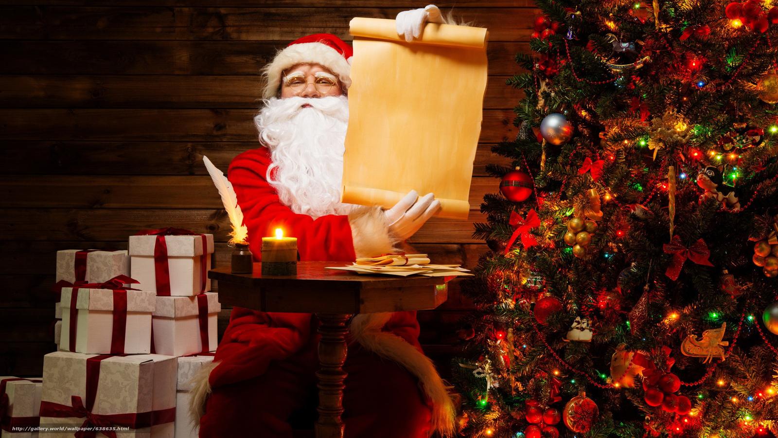 Descargar gratis Papá Noel,  Papá Noel,  Año Nuevo,  Navidad Fondos de escritorio en la resolucin 2560x1440 — imagen №638635
