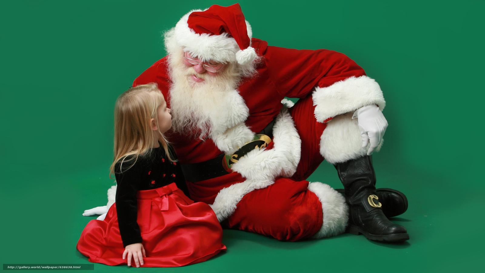 Descargar gratis Papá Noel,  Papá Noel,  Año Nuevo,  Navidad Fondos de escritorio en la resolucin 2560x1440 — imagen №638638