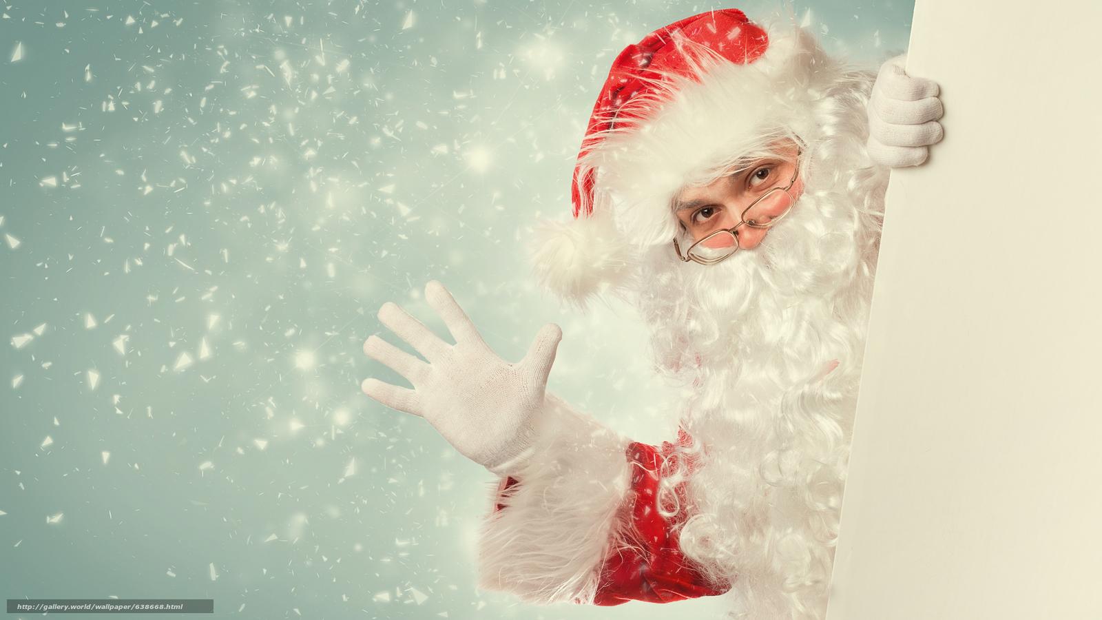 Descargar gratis Papá Noel,  Papá Noel,  Año Nuevo,  Navidad Fondos de escritorio en la resolucin 7680x4320 — imagen №638668