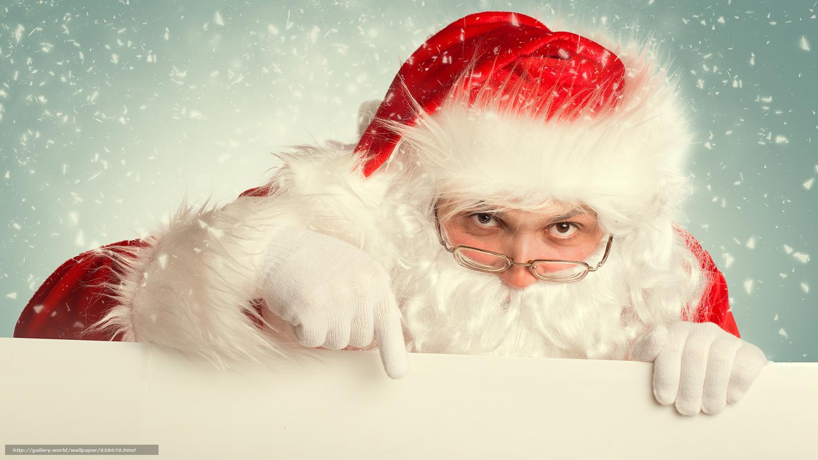 Descargar gratis Papá Noel,  Papá Noel,  Año Nuevo,  Navidad Fondos de escritorio en la resolucin 7680x4320 — imagen №638670
