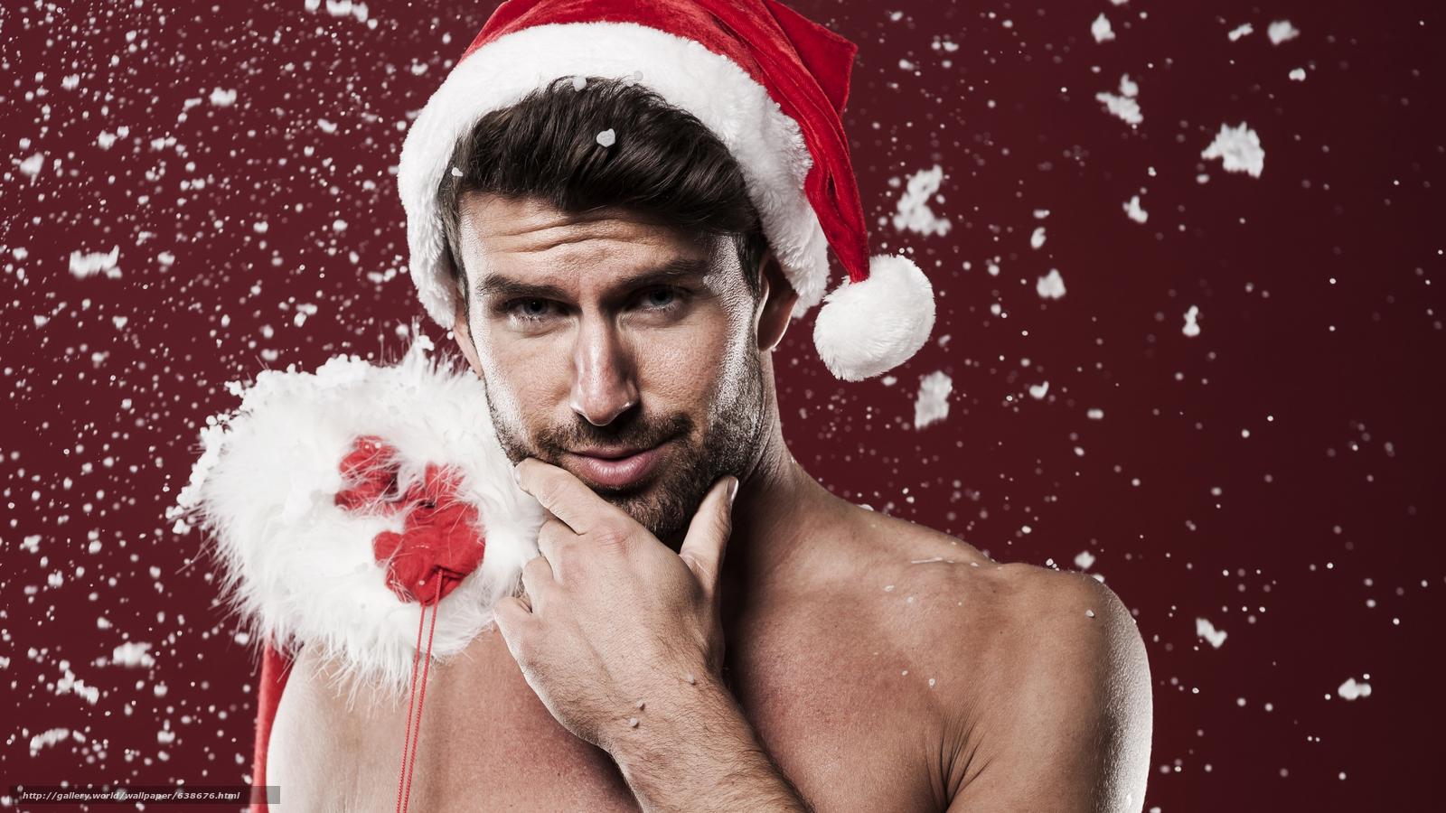 Скачать обои Дед Мороз,  Санта Клаус,  Новый год,  Рождество бесплатно для рабочего стола в разрешении 7680x4320 — картинка №638676
