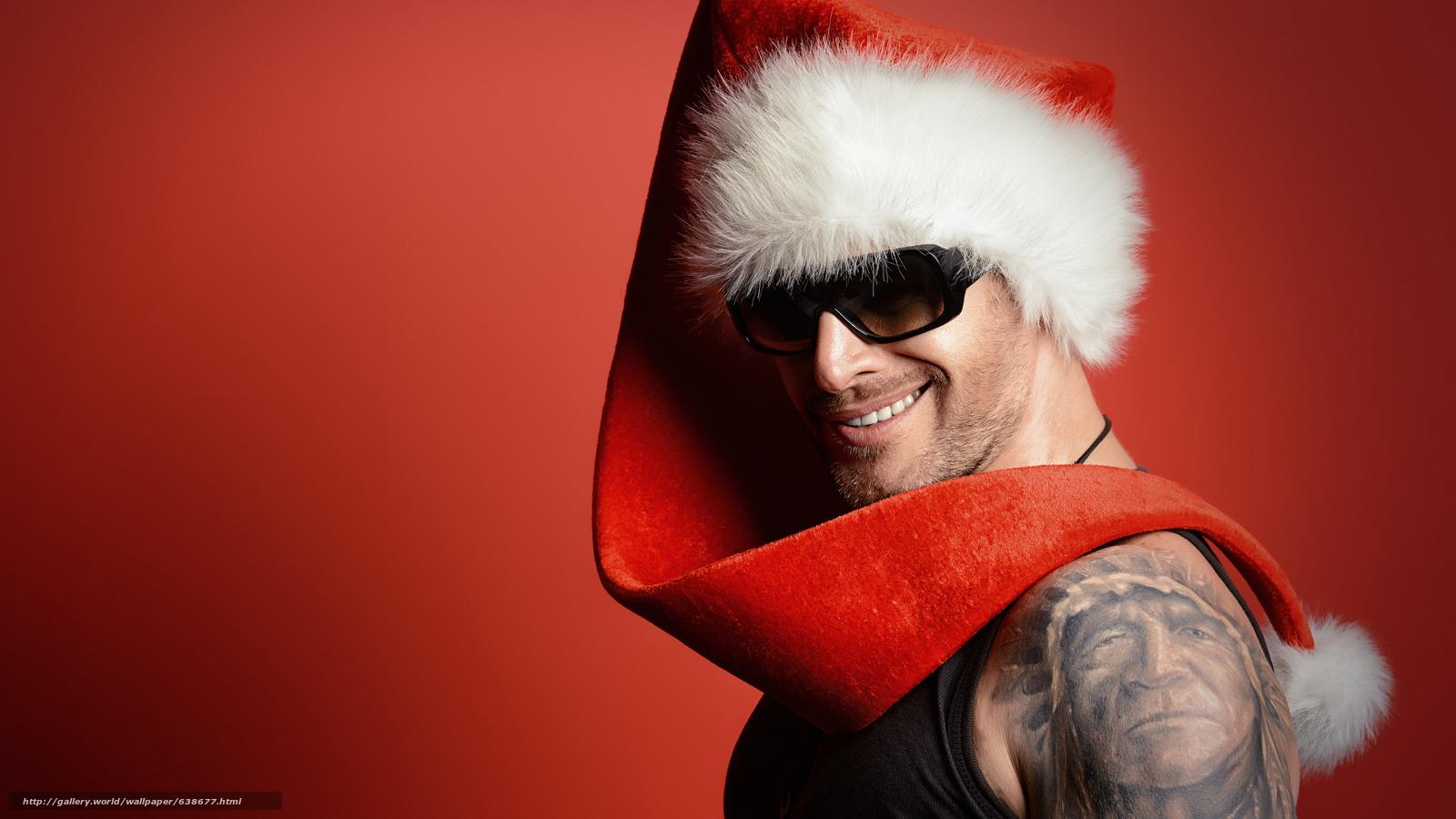 Descargar gratis Papá Noel,  Papá Noel,  Año Nuevo,  Navidad Fondos de escritorio en la resolucin 7680x4320 — imagen №638677