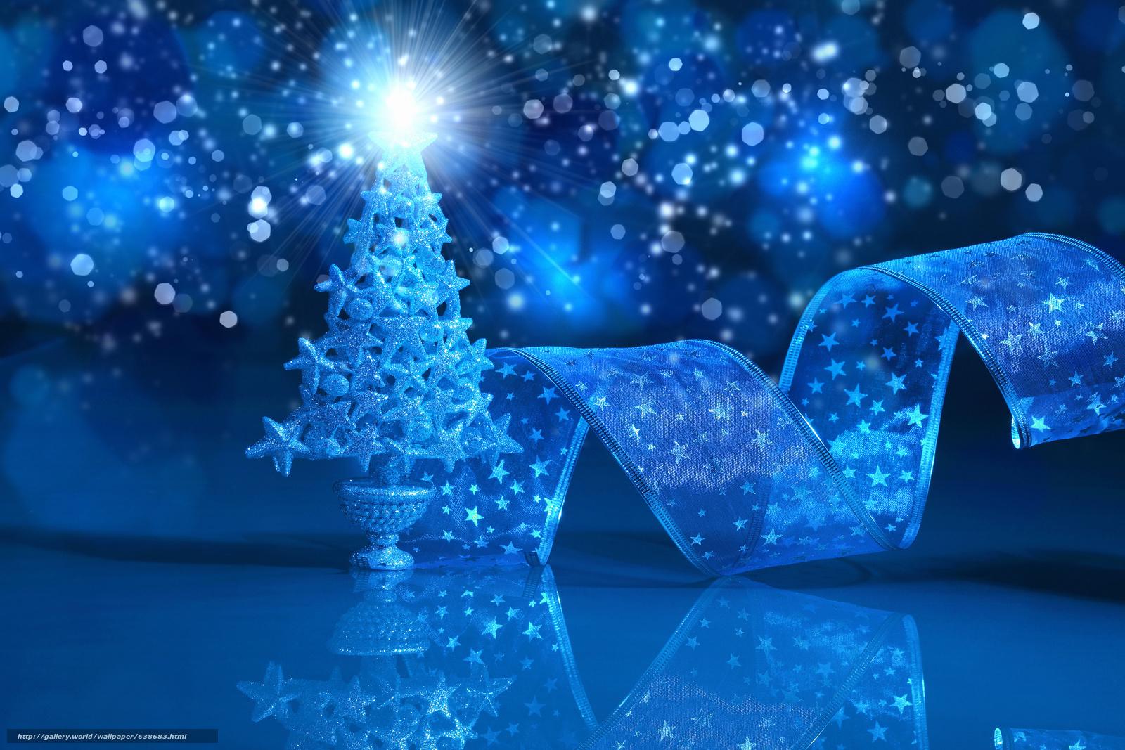 scaricare gli sfondi Sfondi di Natale,  abete,  Sfondo blu Sfondi gratis per la risoluzione del desktop 4200x2800 — immagine №638683