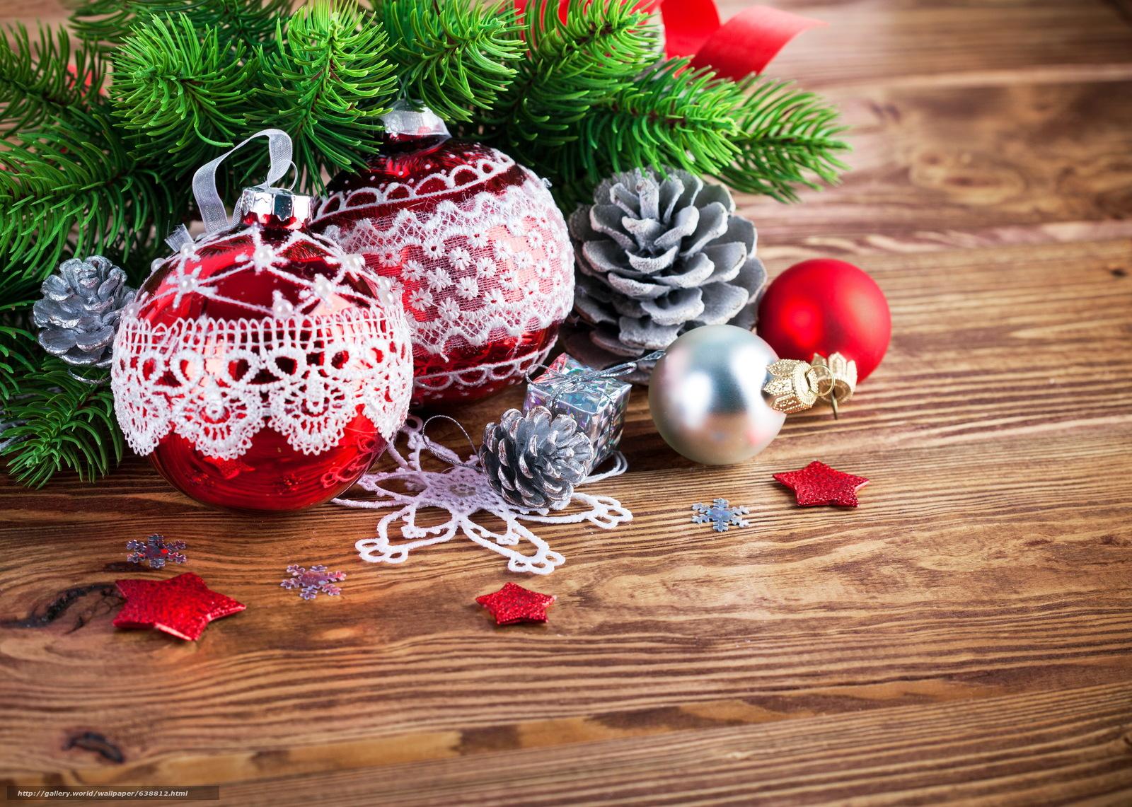 scaricare gli sfondi ramo di un albero,  Palloncini,  Sfondi di Natale Sfondi gratis per la risoluzione del desktop 4881x3481 — immagine №638812