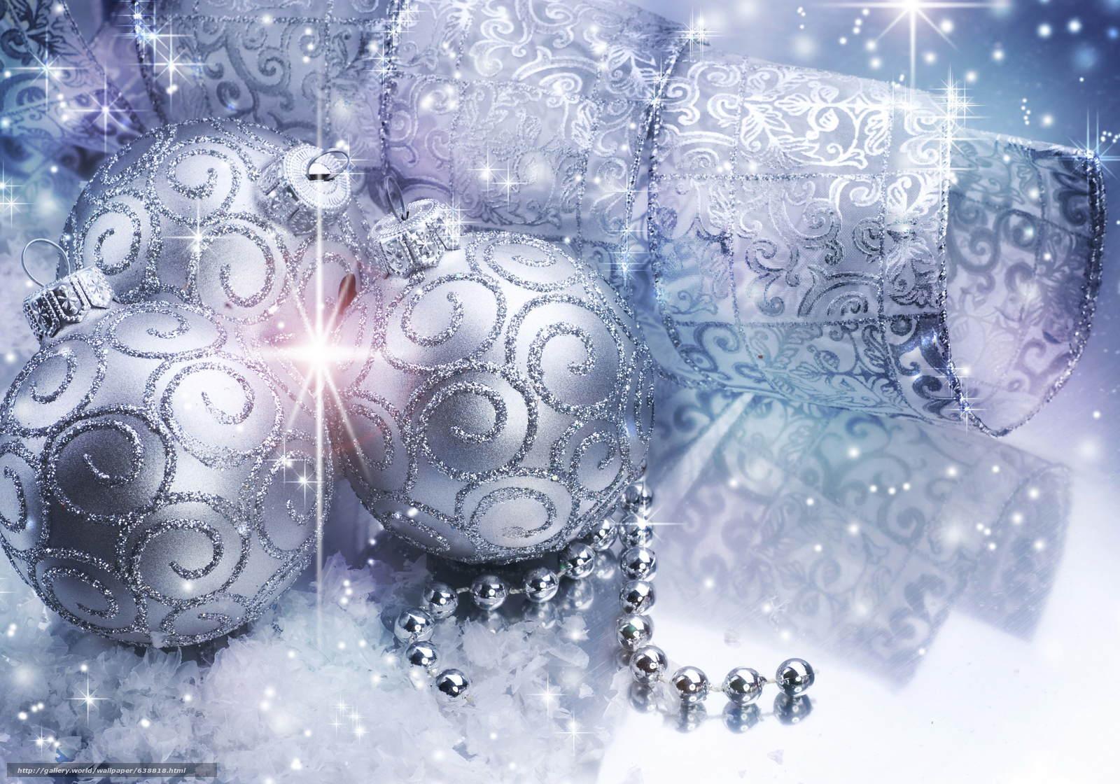 scaricare gli sfondi Sfondi di Natale,  Palloncini,  Decorazioni di Natale Sfondi gratis per la risoluzione del desktop 4875x3413 — immagine №638818