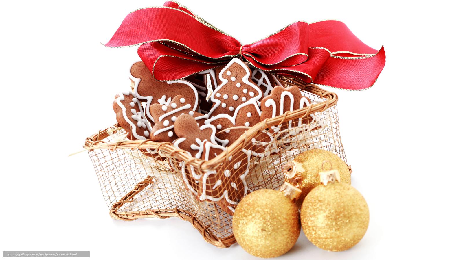 Descargar gratis Año Nuevo,  galletas,  fiesta,  arco Fondos de escritorio en la resolucin 7680x4320 — imagen №638875