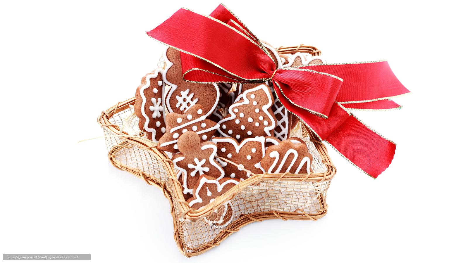 Descargar gratis Año Nuevo,  galletas,  fiesta,  arco Fondos de escritorio en la resolucin 7680x4320 — imagen №638876