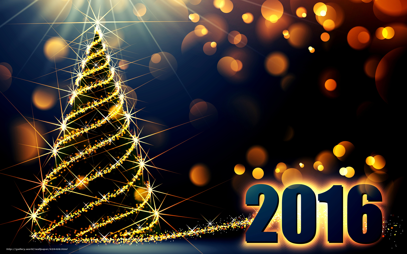 wallpaper new year 2016 date