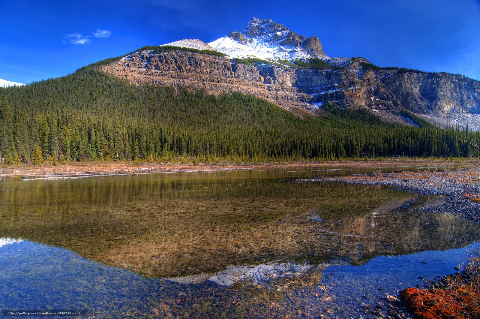 Descargar gratis Belleza Creek,  Jaspe,  De las Montañas Rocosas,  Canadá Fondos de escritorio en la resolucin 2048x1360 — imagen №639770