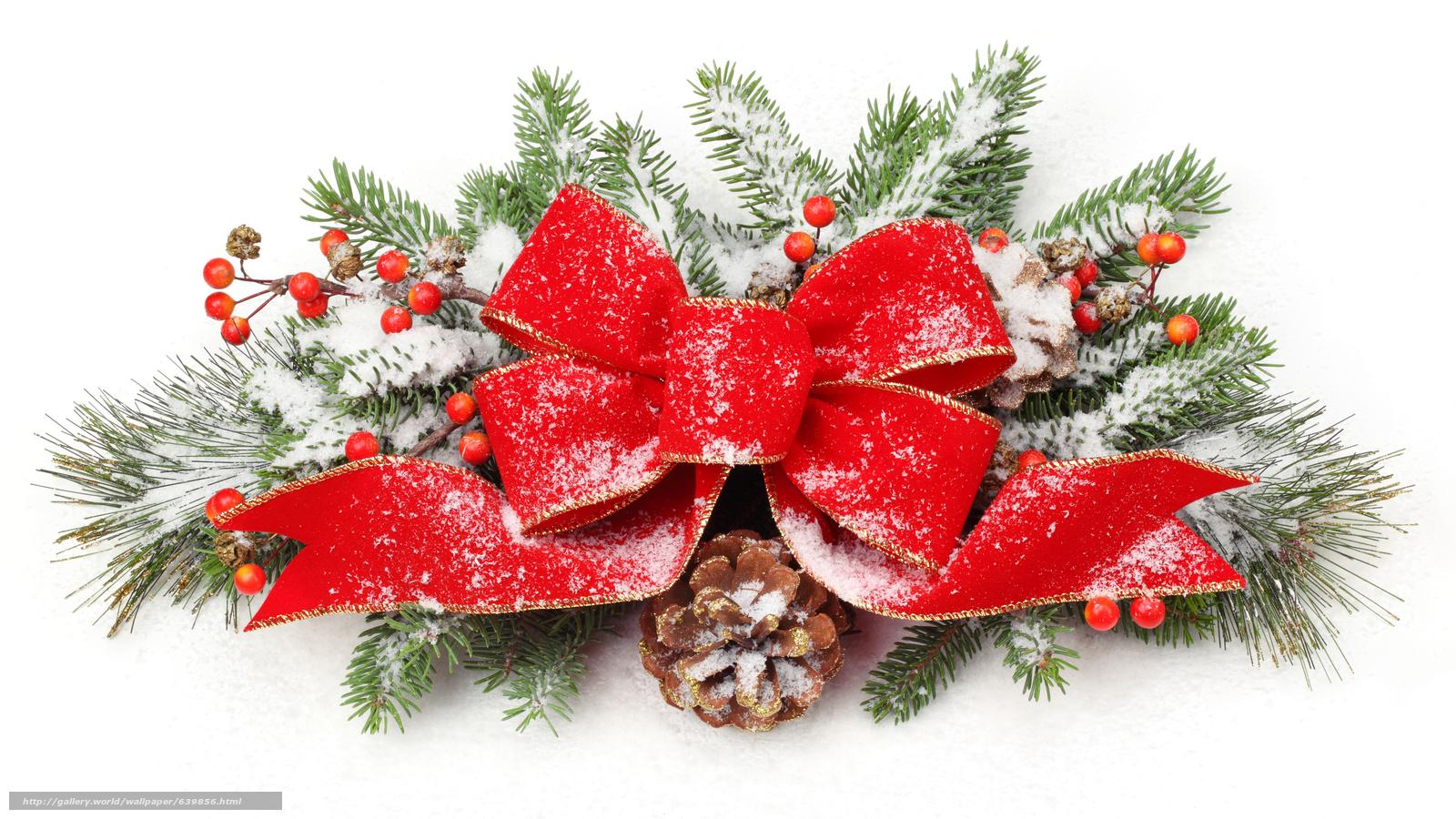Скачать обои новый год,  украшения,  декор,  лента бесплатно для рабочего стола в разрешении 7680x4320 — картинка №639856