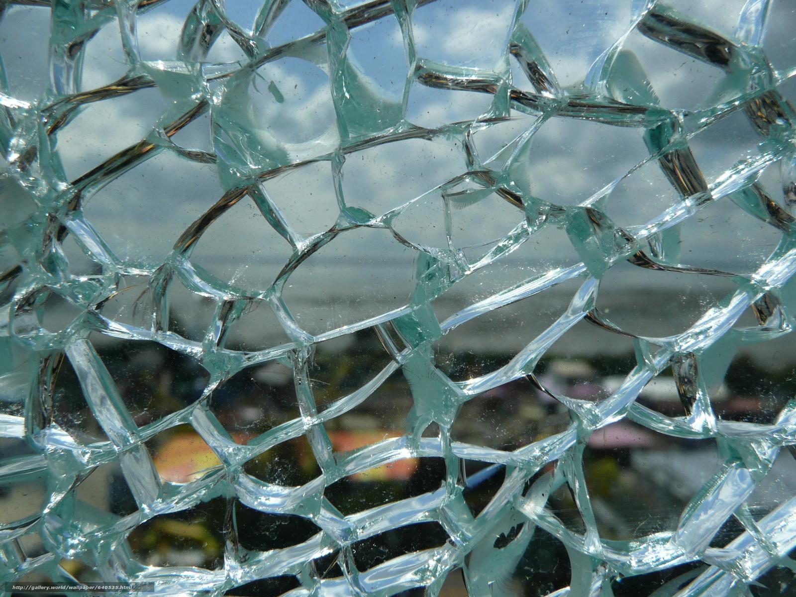 Скачать обои разбитое стекло,  трещины,  стекло,  текстура бесплатно для рабочего стола в разрешении 3072x2304 — картинка №640535