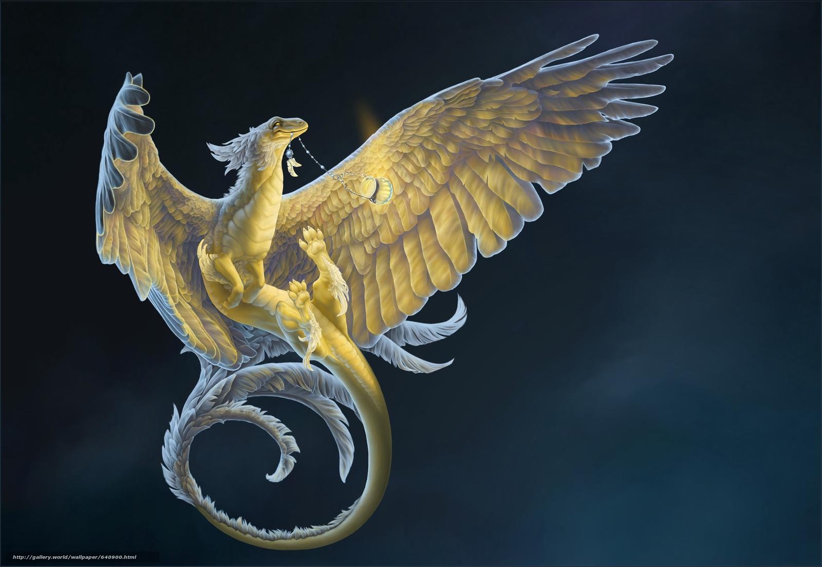 Tlcharger Fond Decran Dragon 3d Art Fantaisie Fonds D
