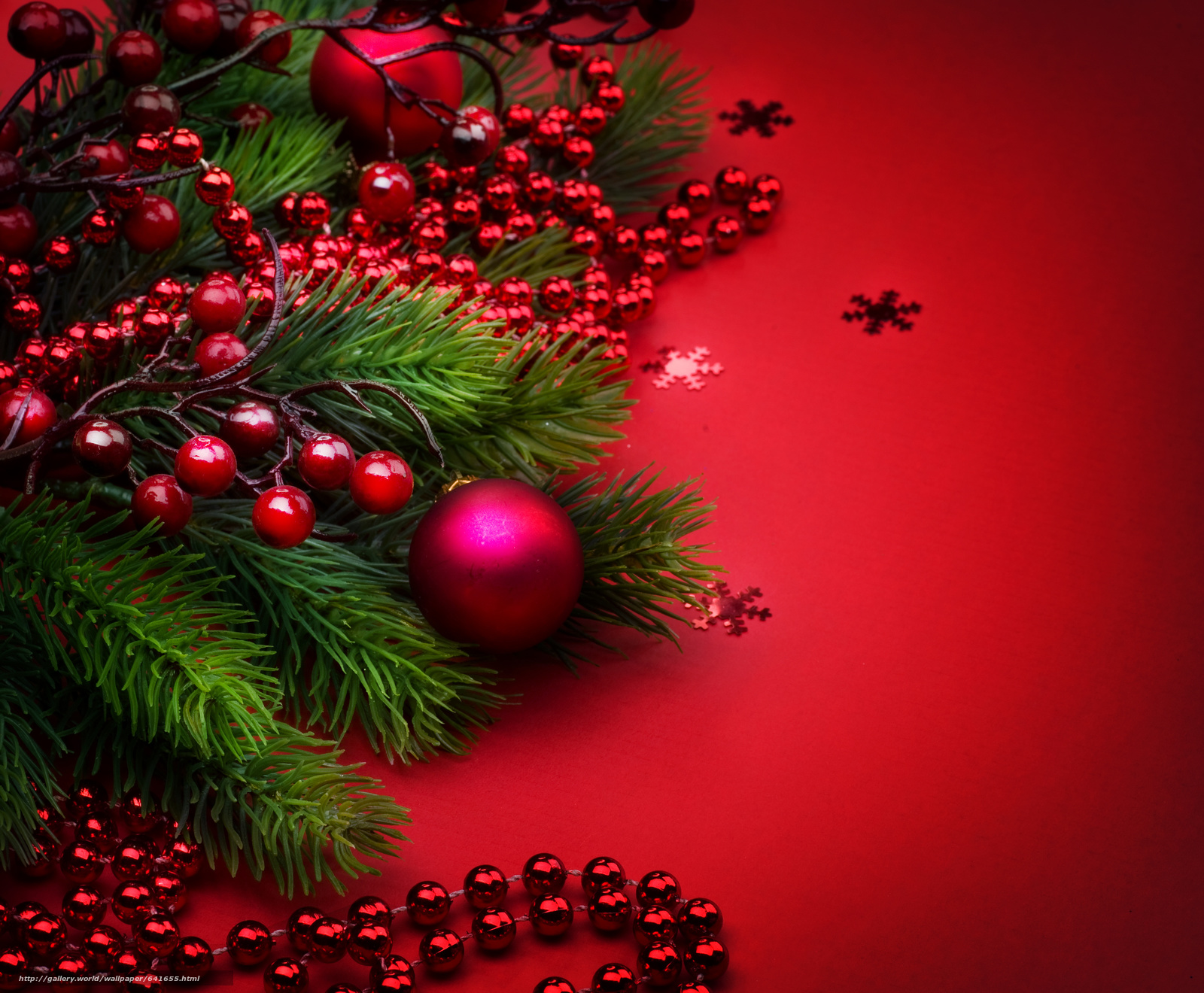 Download wallpaper New Year,  ornamentation,  Christmas decorations,  Needles free desktop wallpaper in the resolution 3424x2824 — picture №641655