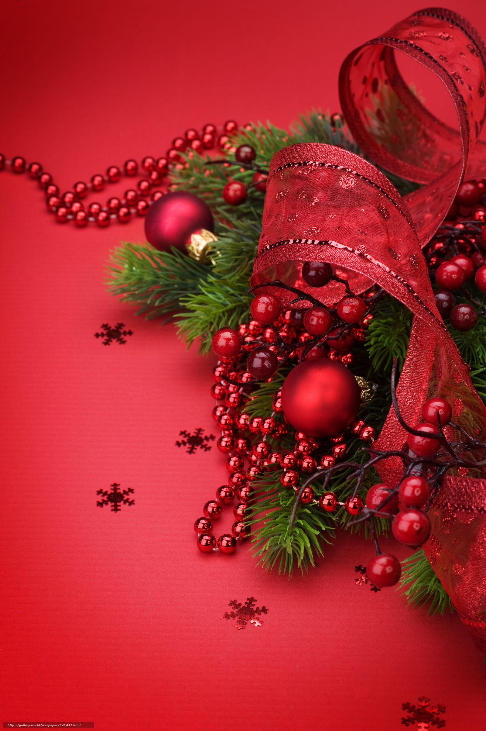 Download wallpaper New Year,  ornamentation,  Christmas decorations,  Needles free desktop wallpaper in the resolution 2832x4256 — picture №641657