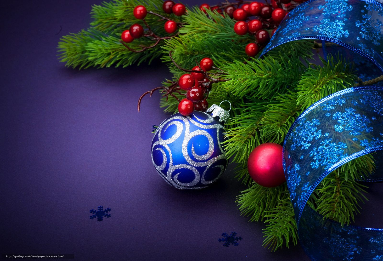 Download wallpaper New Year,  Christmas Wallpaper,  Christmas,  holiday free desktop wallpaper in the resolution 2048x1394 — picture №643049