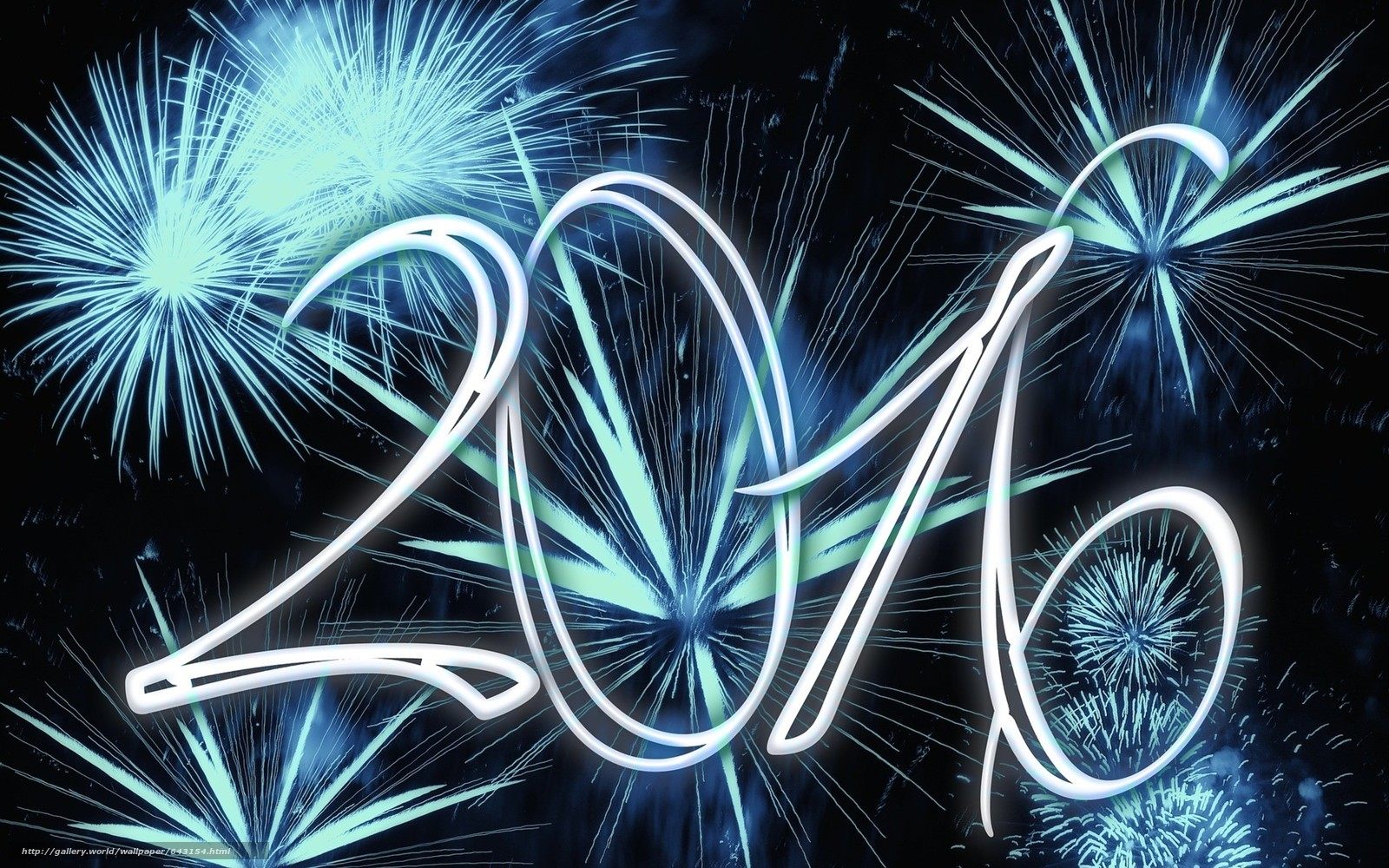 Download wallpaper happy new year,  2016,  date free desktop wallpaper in the resolution 5120x3200 — picture №643154