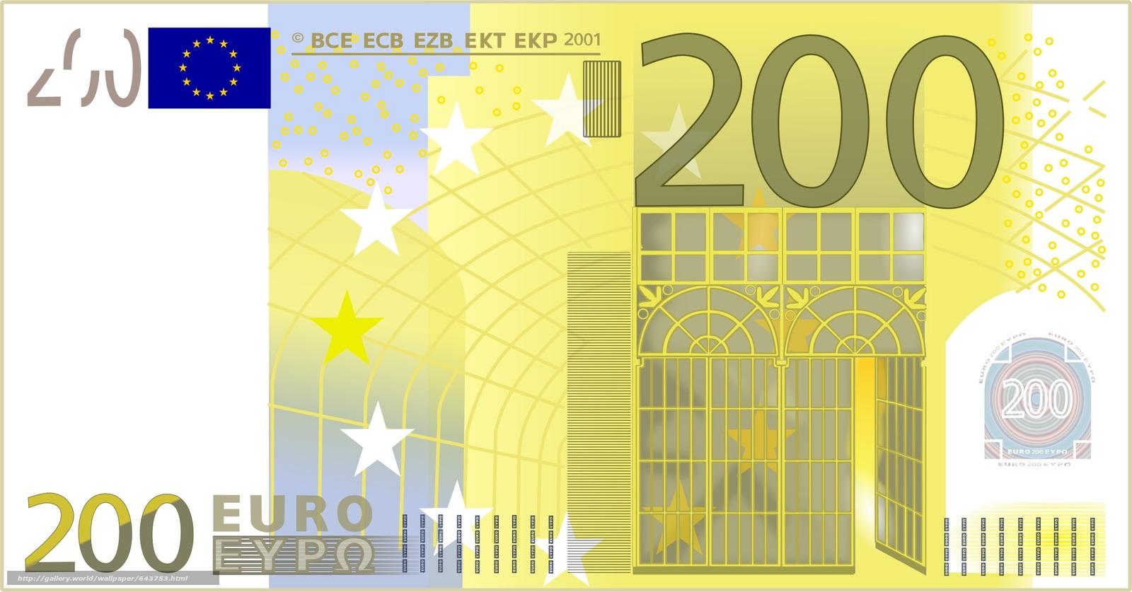 Descargar gratis dinero,  euros,  proyecto de ley,  nota Fondos de escritorio en la resolucin 2394x1252 — imagen №643753