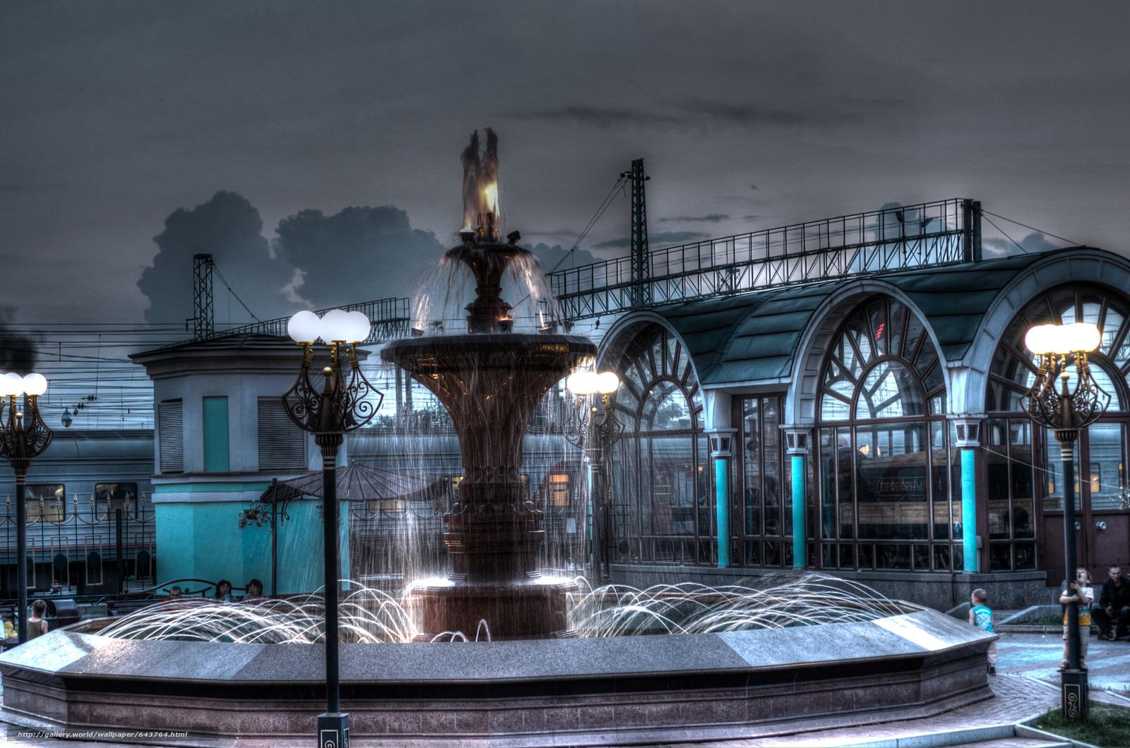 Descargar gratis estación de ferrocarril,  Novosibirsk,  Rusia,  ciudad Fondos de escritorio en la resolucin 3000x1987 — imagen №643764