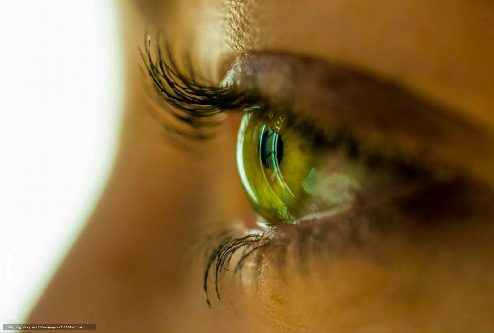 Скачать обои глаз,  глаза,  человеческие,  человек бесплатно для рабочего стола в разрешении 2048x1379 — картинка №644154