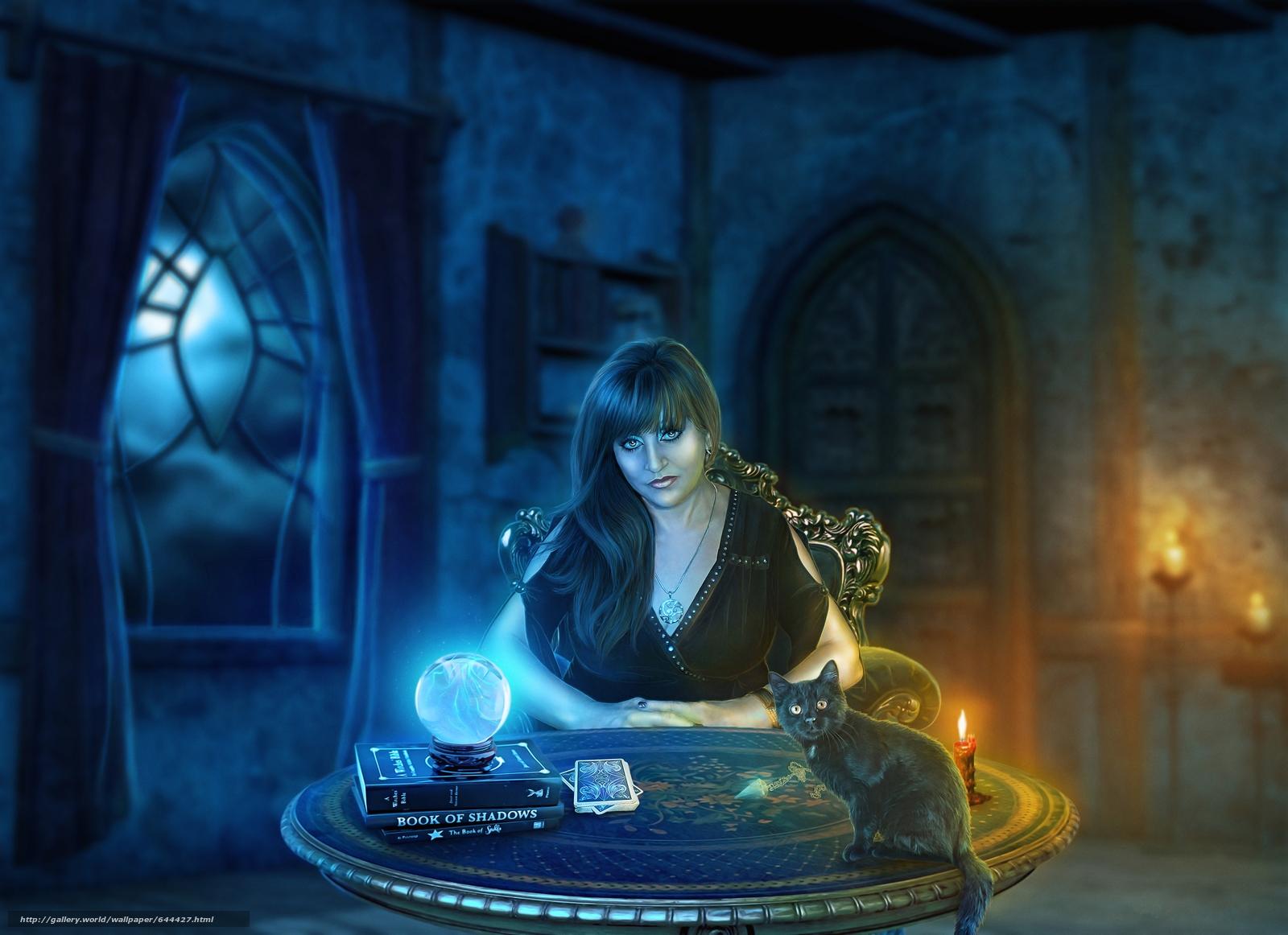 Descargar gratis noche,  tabla,  Velas,  magia Fondos de escritorio en la resolucin 4600x3342 — imagen №644427