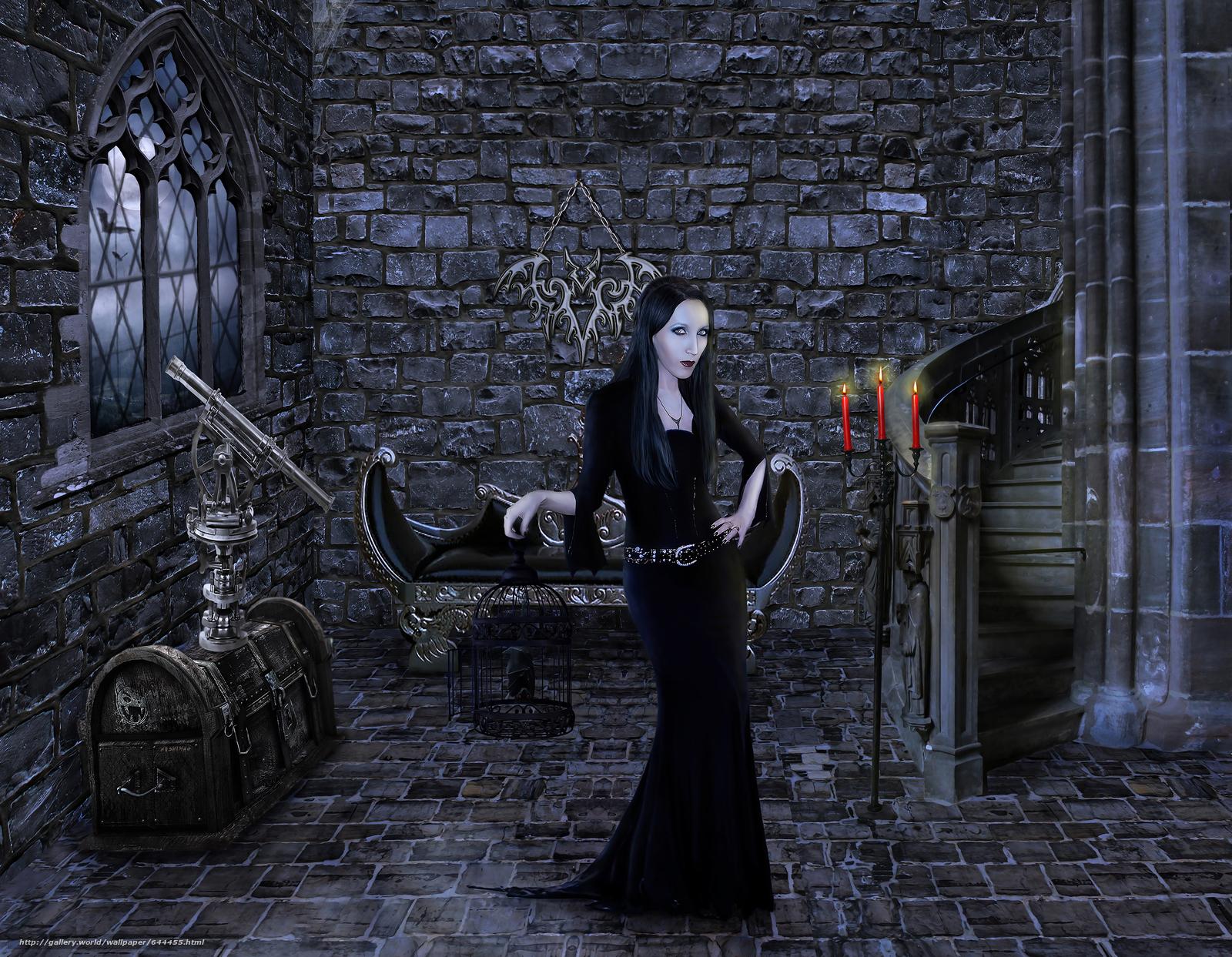 Download Hintergrund Schloss,  Zimmer,  Mädchen Freie desktop Tapeten in der Auflosung 3000x2330 — bild №644455