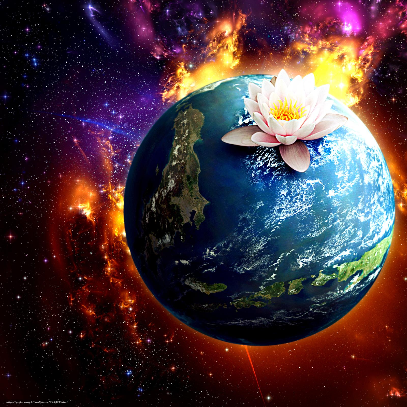 Descargar gratis espacio,  Planeta,  3d,  arte Fondos de escritorio en la resolucin 2500x2500 — imagen №644527
