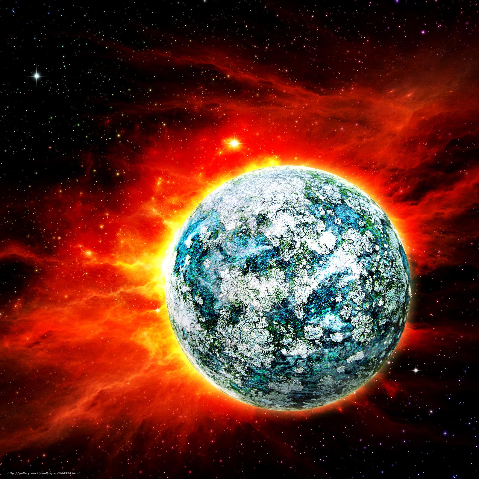 scaricare gli sfondi spazio,  Planet,  3d,  arte Sfondi gratis per la risoluzione del desktop 2500x2500 — immagine №644529