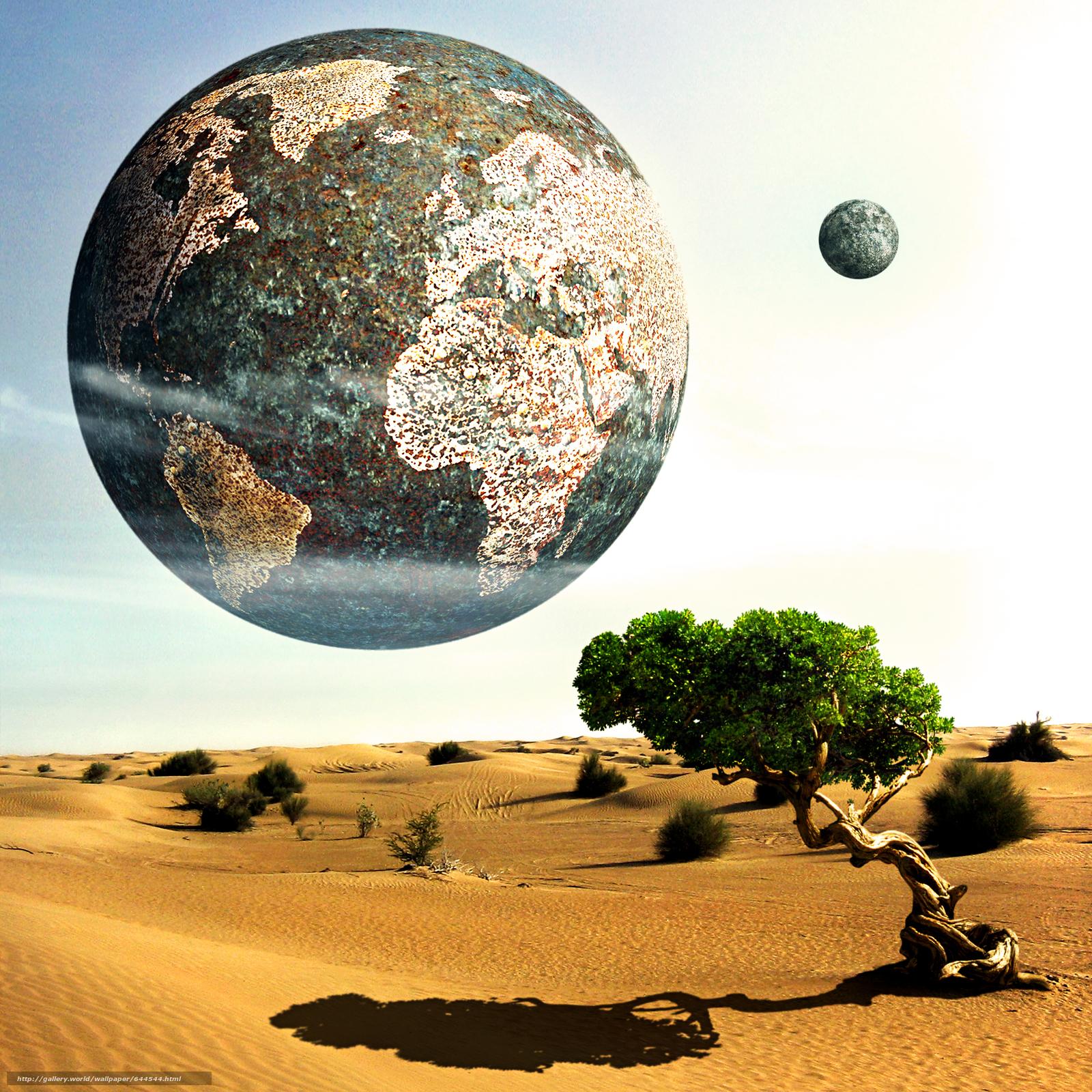 Descargar gratis espacio,  Planeta,  3d,  arte Fondos de escritorio en la resolucin 2500x2500 — imagen №644544