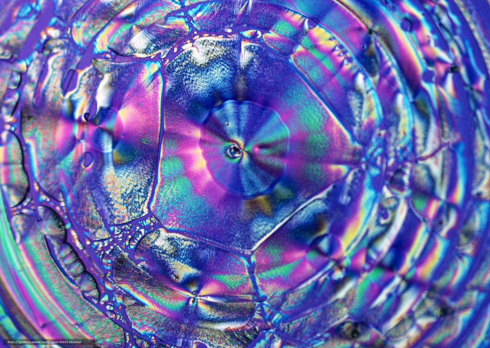 Скачать обои кристаллы под микроскопом,  кристалл,  микроскоп,  увеличение бесплатно для рабочего стола в разрешении 2950x2094 — картинка №644720