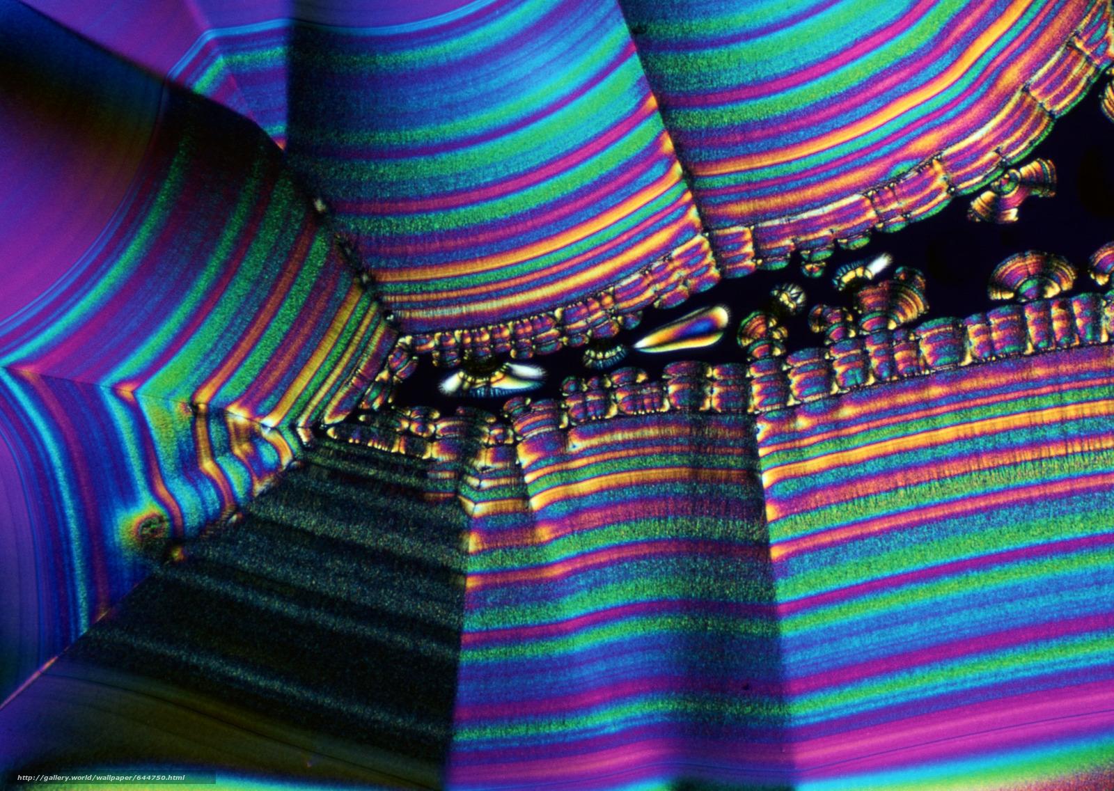 Скачать обои кристаллы под микроскопом,  кристалл,  микроскоп,  увеличение бесплатно для рабочего стола в разрешении 2950x2094 — картинка №644750