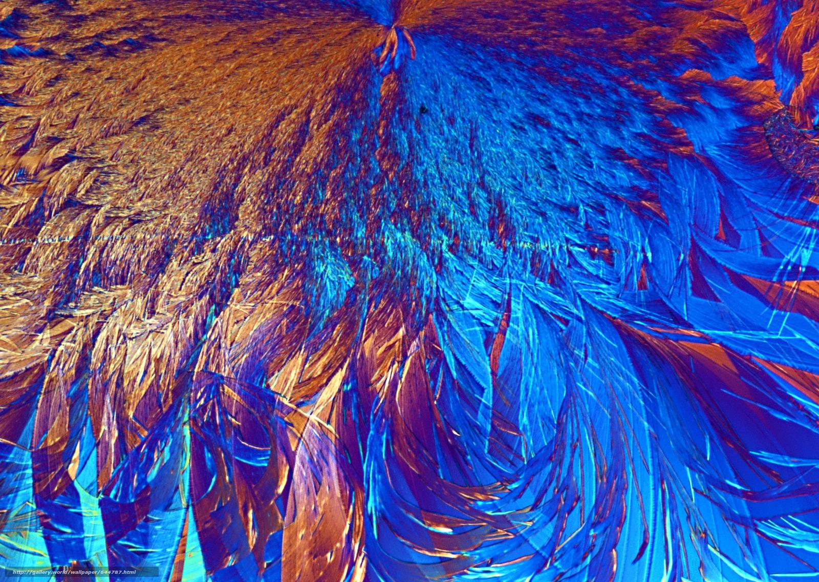 Descargar gratis cristales bajo el microscopio,  cristal,  microscopio,  aumentar Fondos de escritorio en la resolucin 2950x2094 — imagen №644787