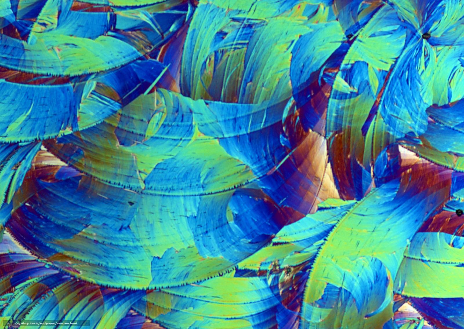 Скачать обои кристаллы под микроскопом,  кристалл,  микроскоп,  увеличение бесплатно для рабочего стола в разрешении 2950x2094 — картинка №644790