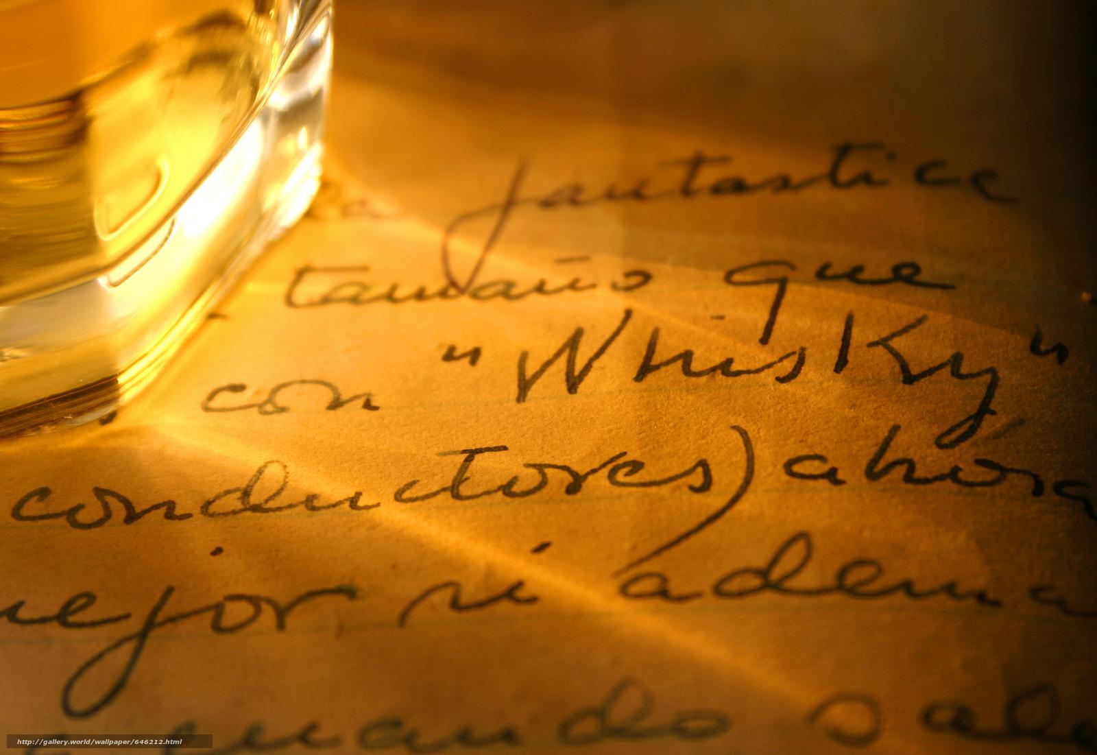 scaricare gli sfondi Bakal,  whisky,  lettera Sfondi gratis per la risoluzione del desktop 5616x3864 — immagine №646212