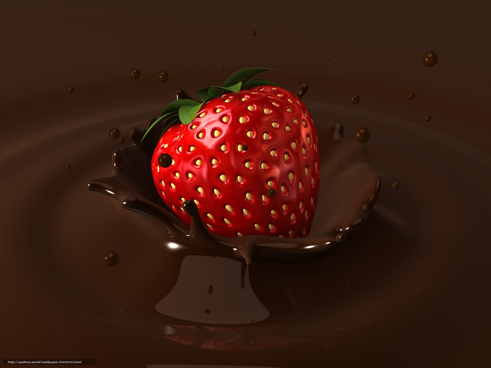 Download wallpaper strawberries,  chocolate,  chocolate covered strawberries free desktop wallpaper in the resolution 5000x3750 — picture №646545