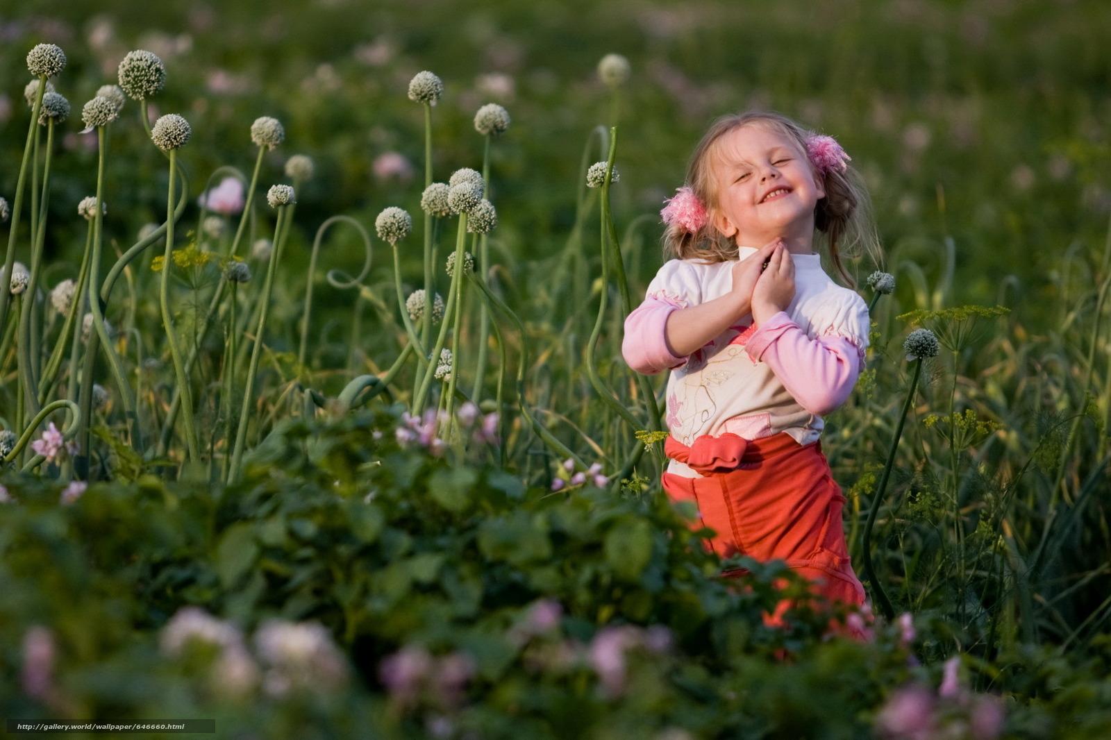 Природа и ребёнок летом