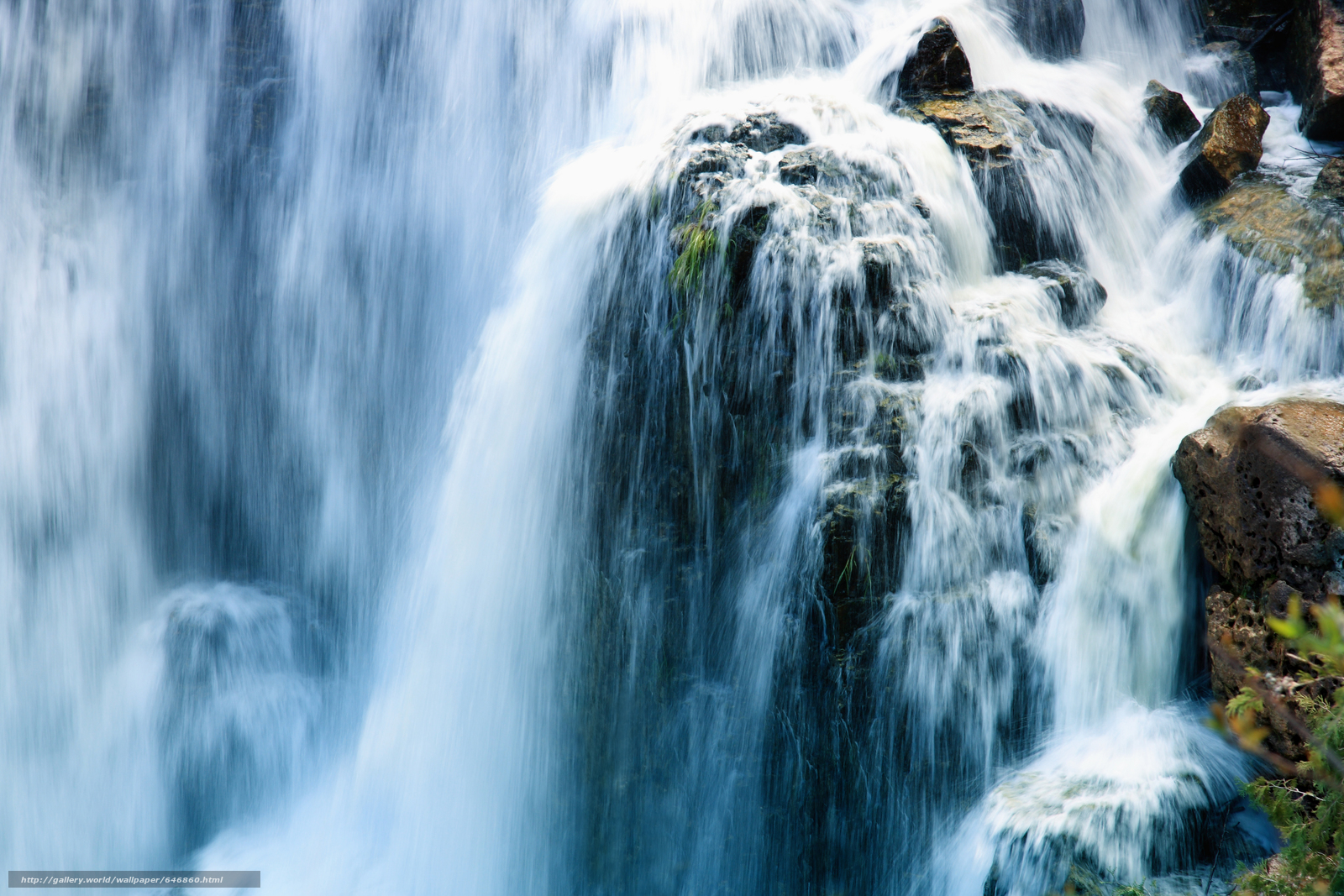 Download wallpaper waterfall,  waterfalls,  nature,  landscape free desktop wallpaper in the resolution 7776x5184 — picture №646860