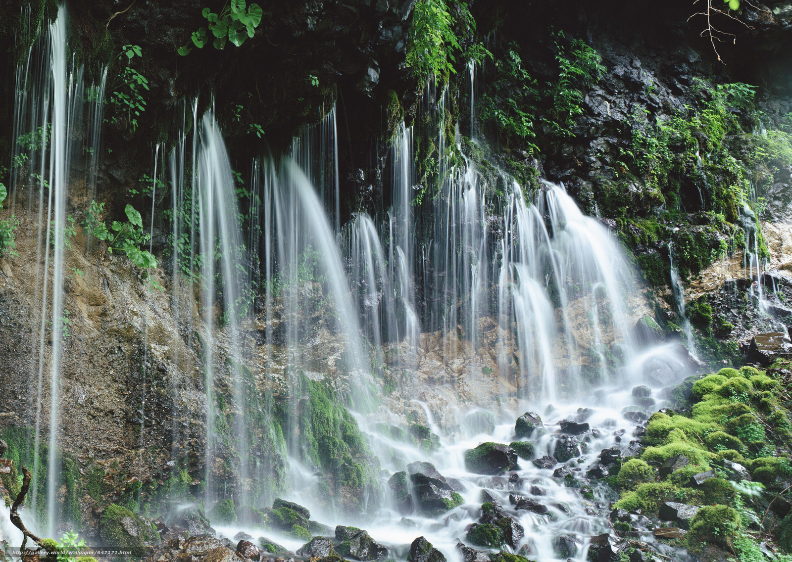 scaricare gli sfondi cascata,  cascate,  acqua,  FLOW Sfondi gratis per la risoluzione del desktop 2950x2094 — immagine №647171