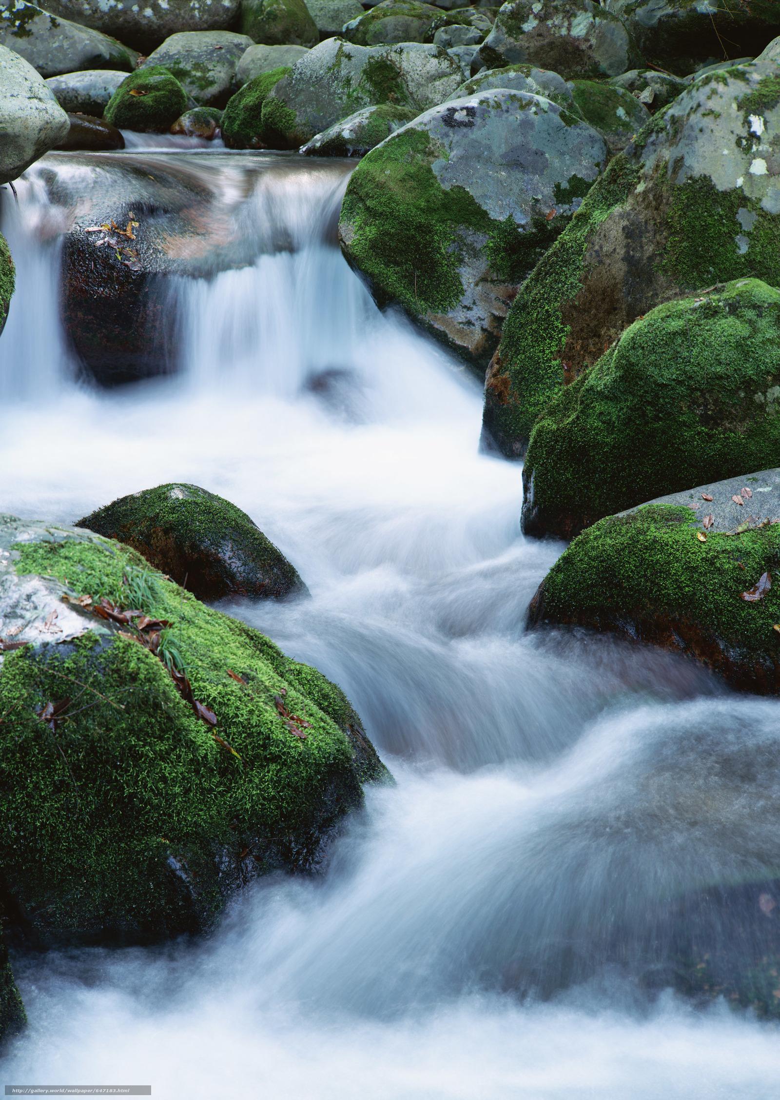 scaricare gli sfondi cascata,  cascate,  acqua,  FLOW Sfondi gratis per la risoluzione del desktop 2094x2950 — immagine №647183