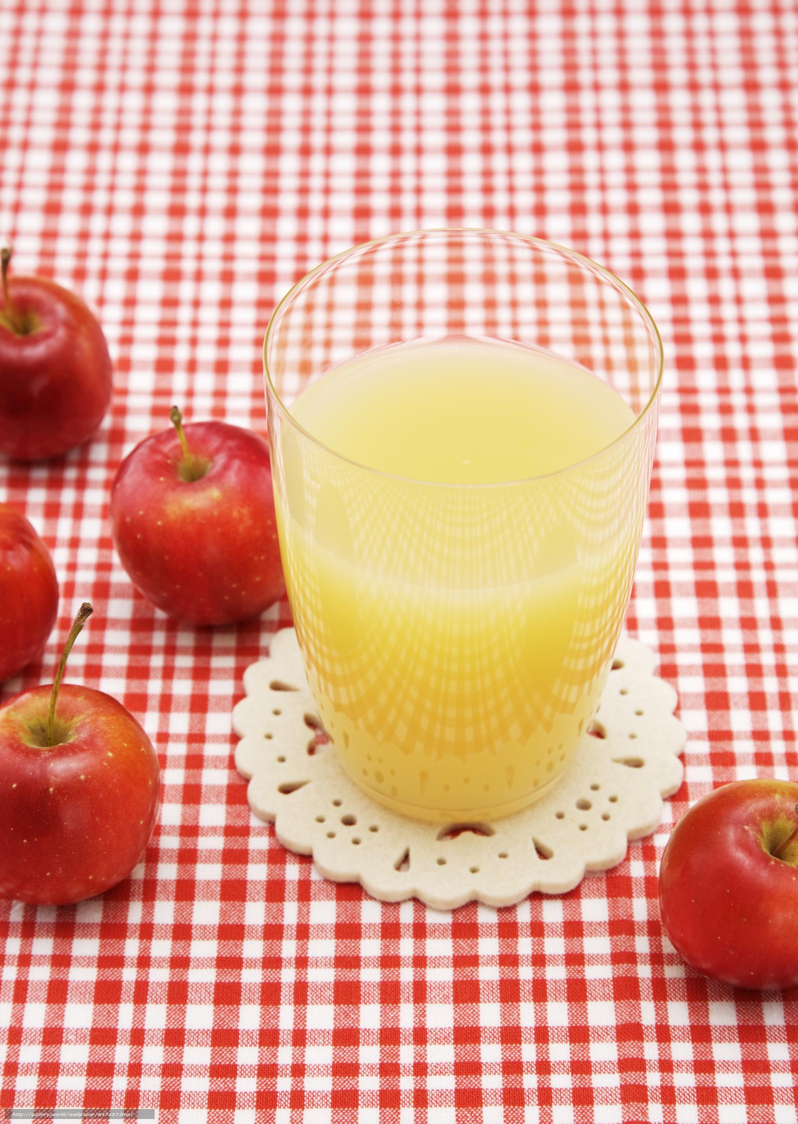 Download wallpaper juice,  fruit,  apple,  apples free desktop wallpaper in the resolution 2094x2950 — picture №647457