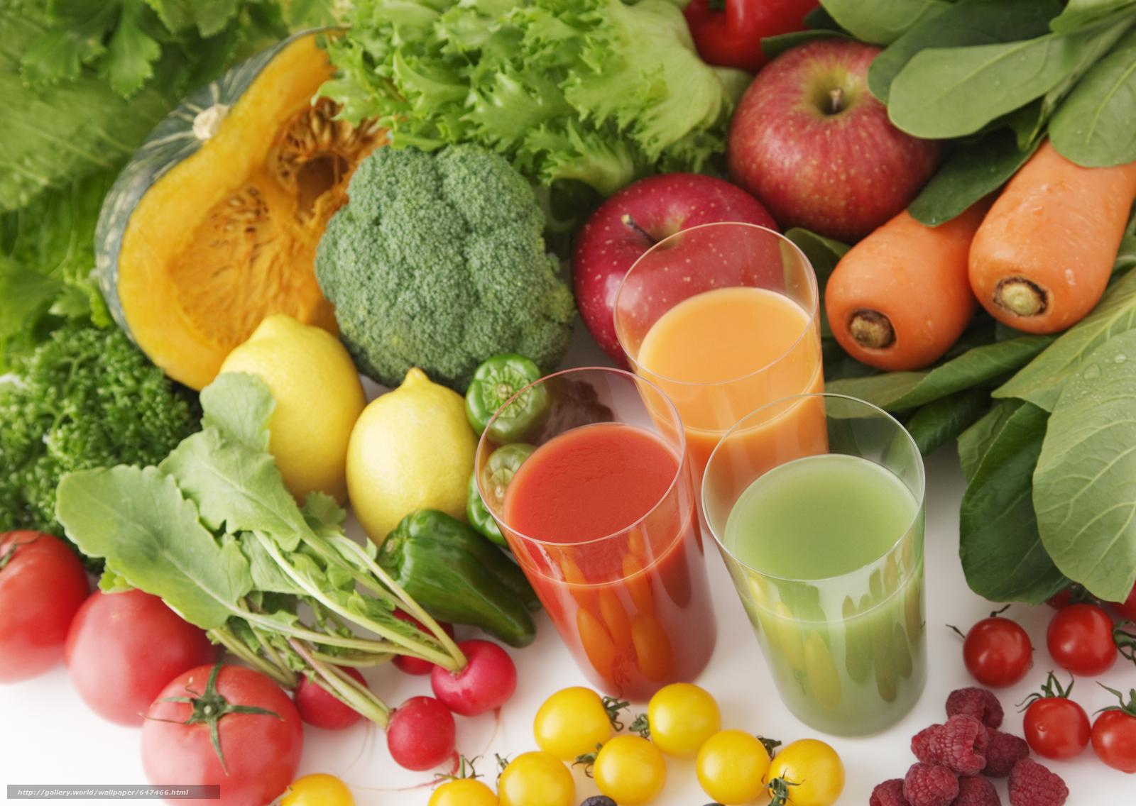 Download wallpaper juice,  vegetable,  fruit,  fruit free desktop wallpaper in the resolution 2950x2094 — picture №647466