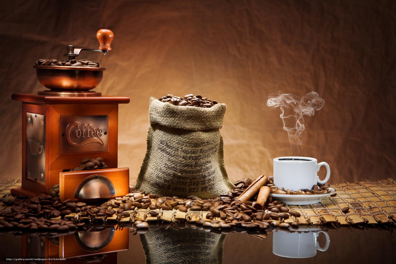 Download wallpaper coffee,  Grain,  mug free desktop wallpaper in the resolution 8736x5824 — picture №647539
