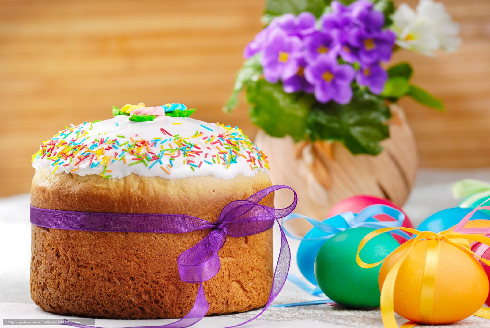 Descargar gratis Pastel de Pascua,  huevos,  fiesta Fondos de escritorio en la resolucin 7744x5184 — imagen №647584