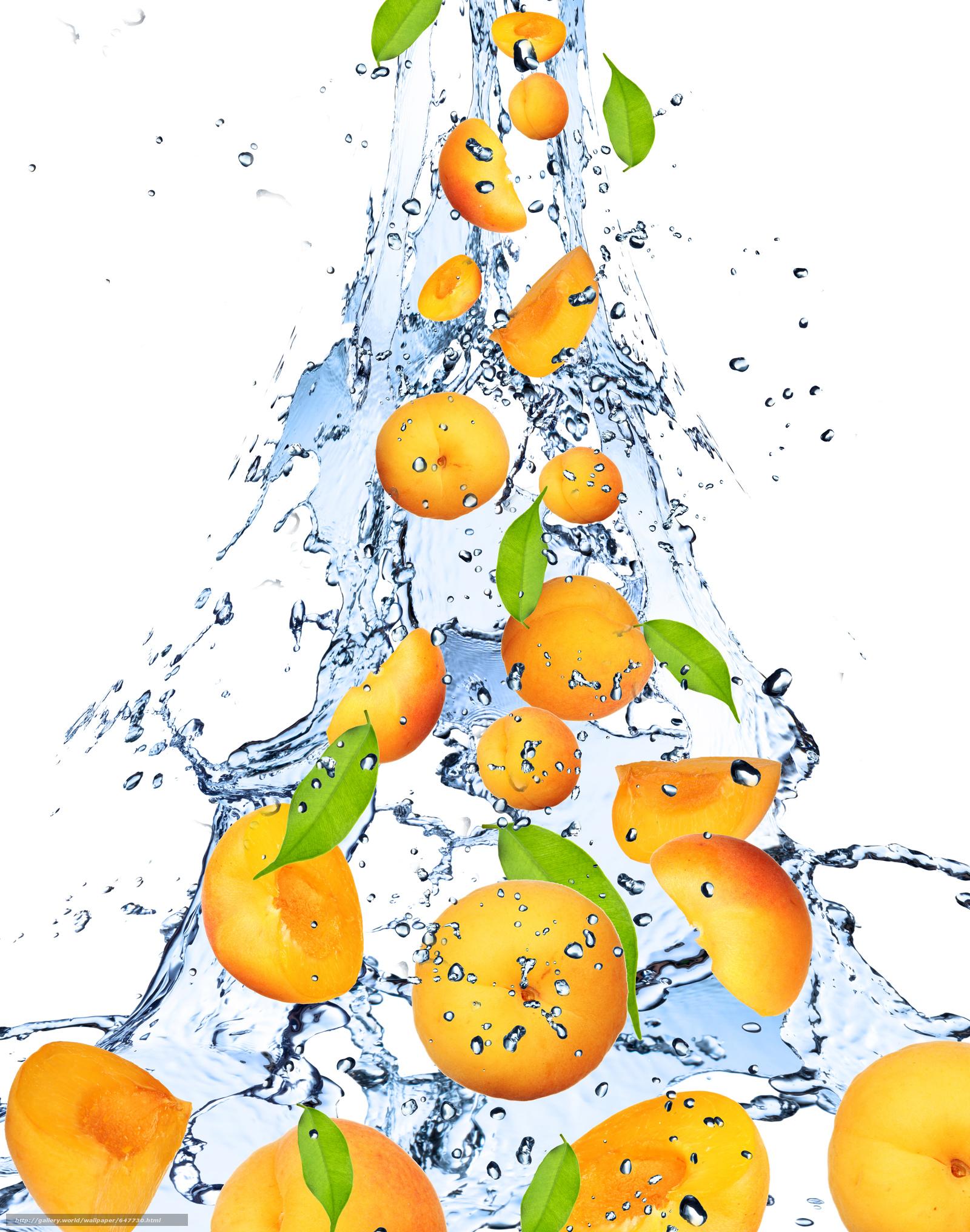 Скачать обои врукты,  вода,  брызги бесплатно для рабочего стола в разрешении 6492x8243 — картинка №647730