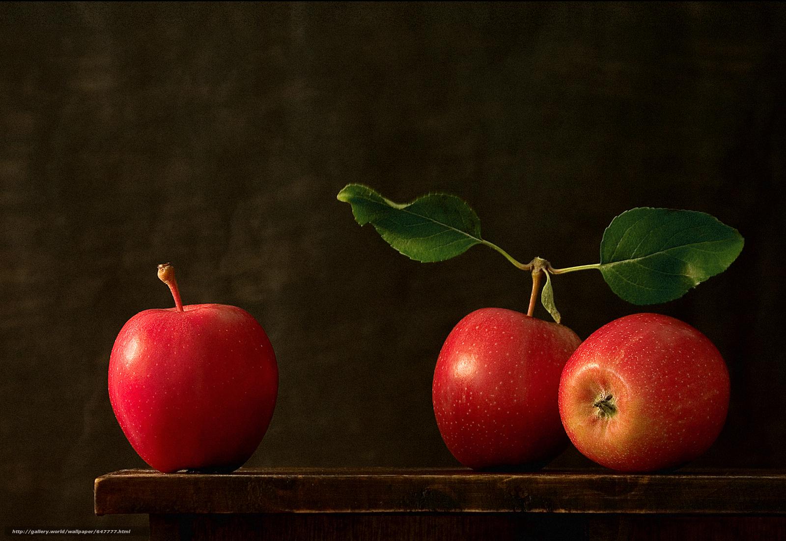 Скачать обои яблоки,  фрукты,  еда бесплатно для рабочего стола в разрешении 5300x3644 — картинка №647777