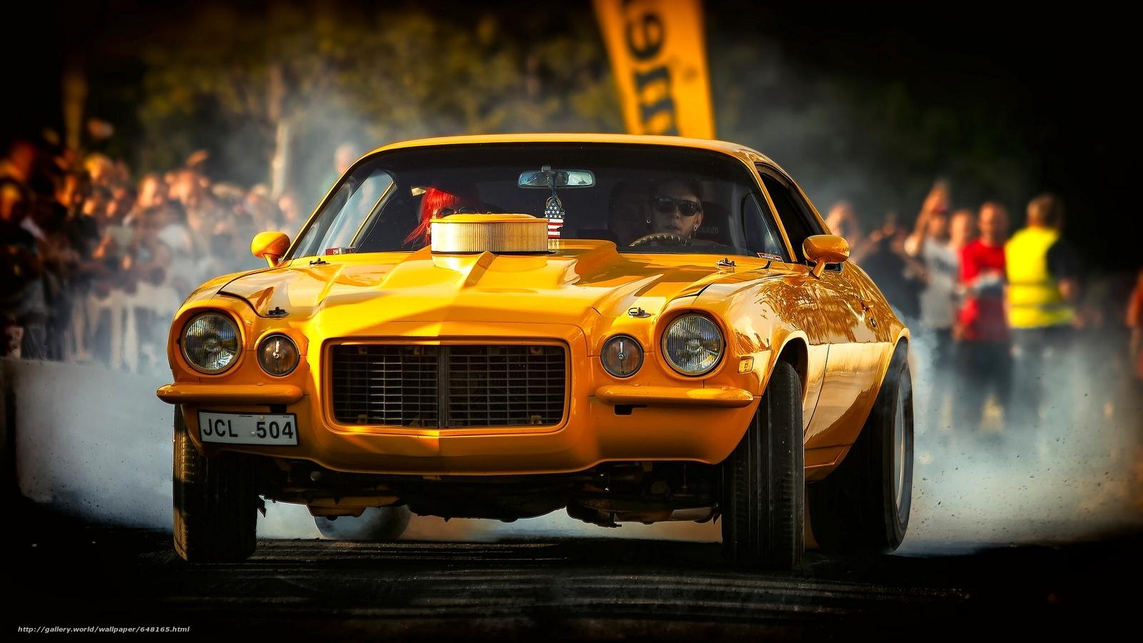 scaricare gli sfondi 1972 Chevrolet Camaro,  Chevrolet Camaro,  Chevrolet,  Camaro Sfondi gratis per la risoluzione del desktop 2048x1152 — immagine №648165