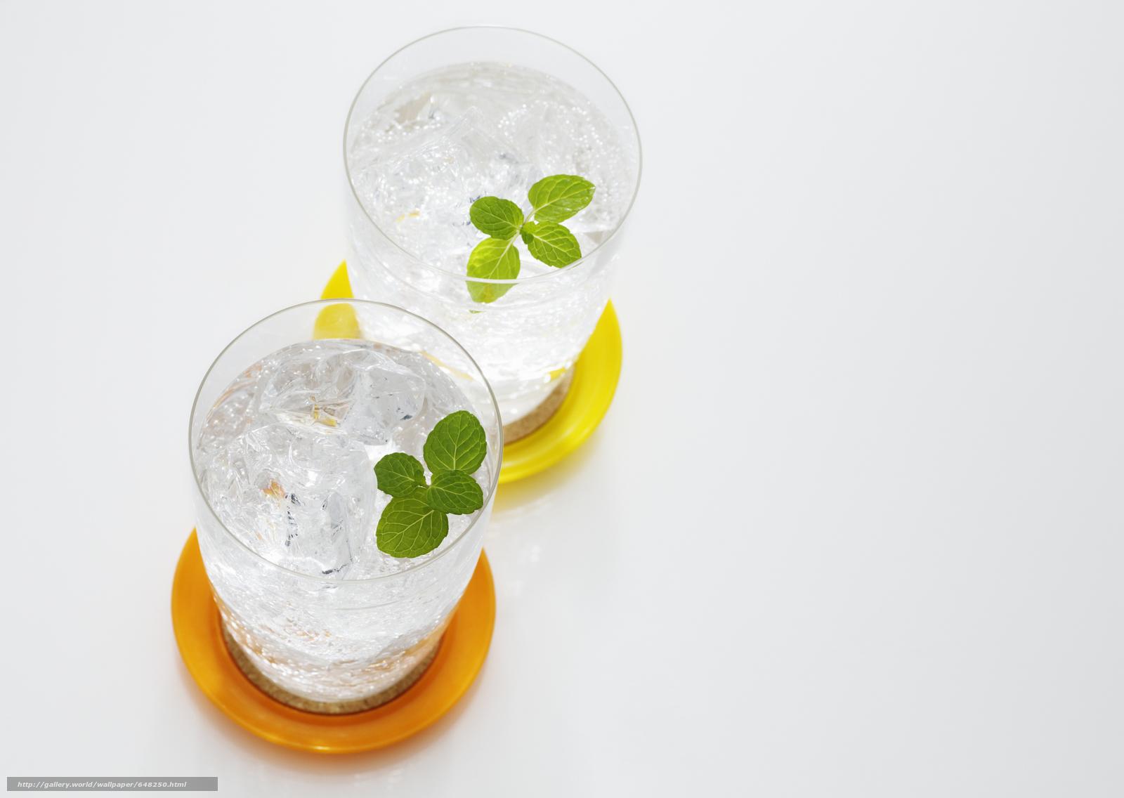 Descargar gratis beber,  hielo,  gafas,  menta Fondos de escritorio en la resolucin 2950x2094 — imagen №648250