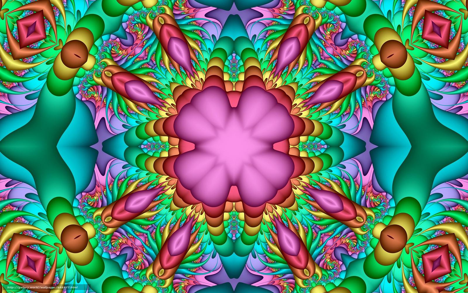 Скачать обои симметрия,  геометрия,  узор,  абстракция бесплатно для рабочего стола в разрешении 1920x1200 — картинка №648277