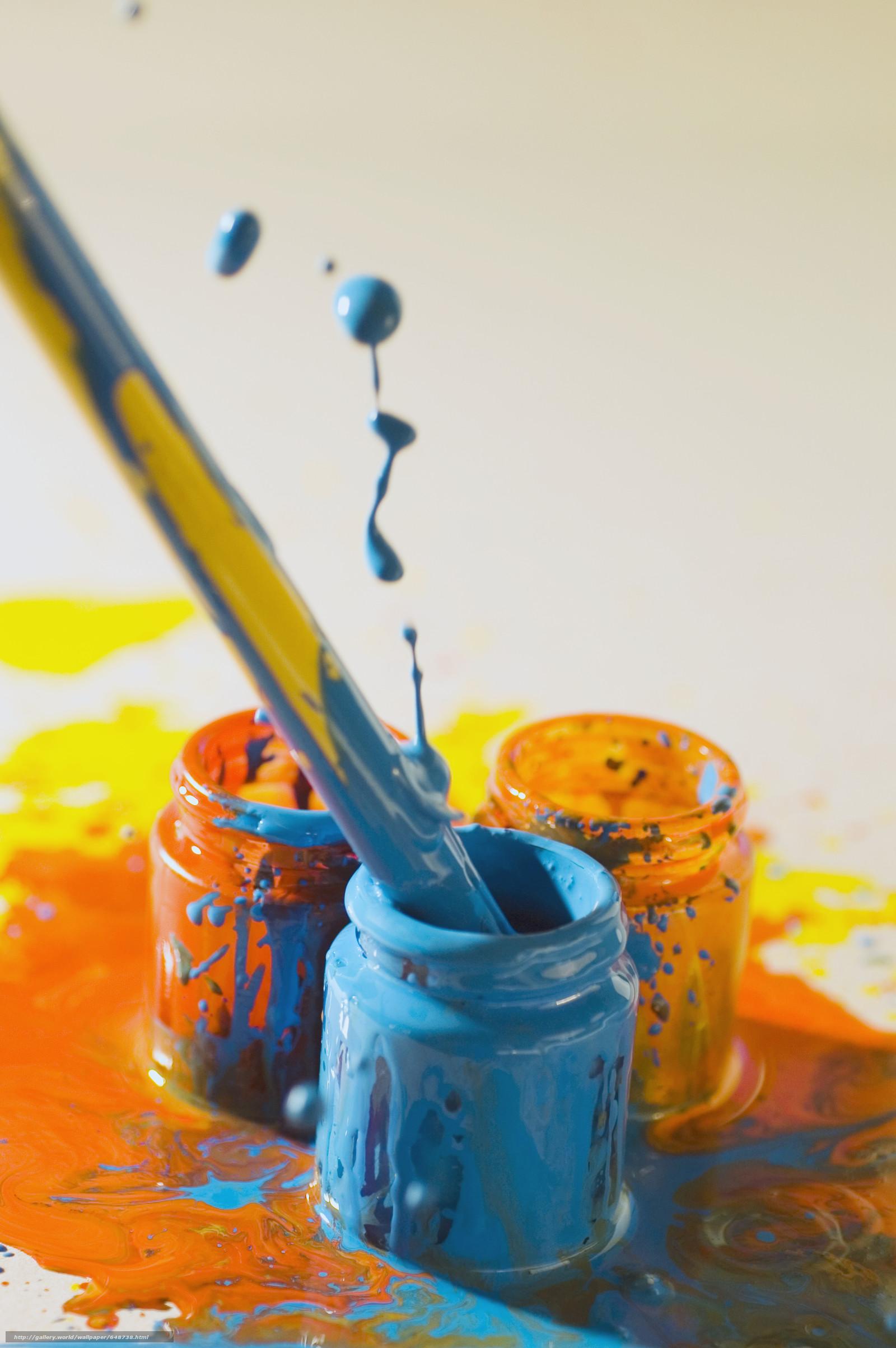 scaricare gli sfondi Cartoleria,  per gli artisti,  vernici,  COLORE Sfondi gratis per la risoluzione del desktop 3640x5475 — immagine №648738