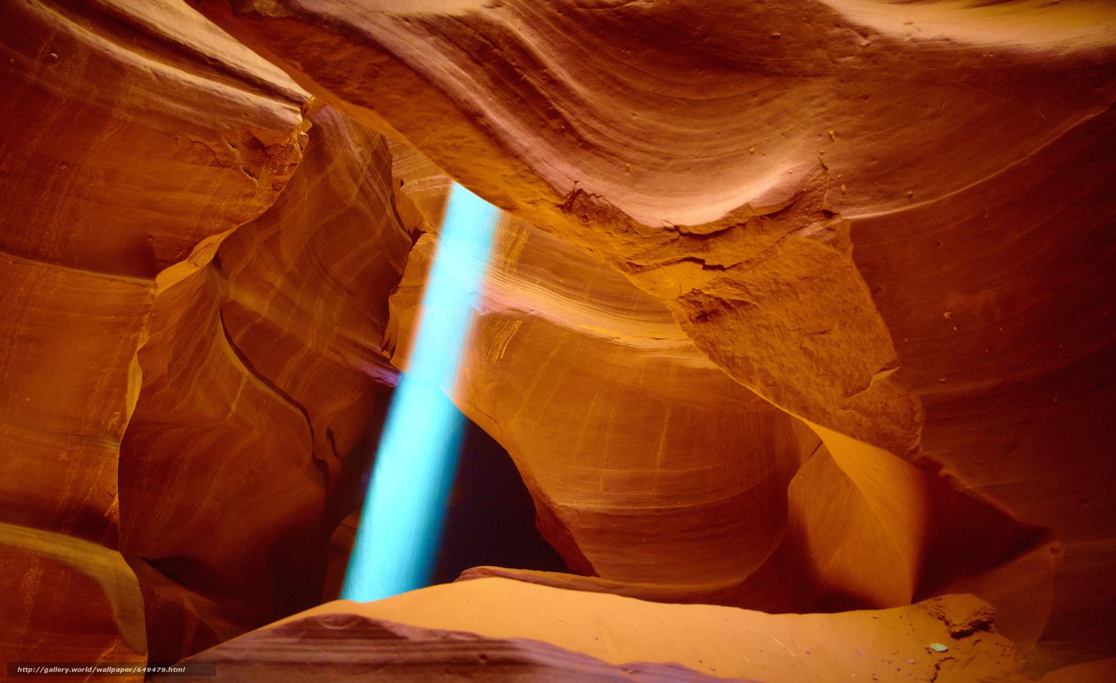 Скачать обои каньон,  каньон Антилопы,  Аризона,  США бесплатно для рабочего стола в разрешении 3840x2350 — картинка №649479